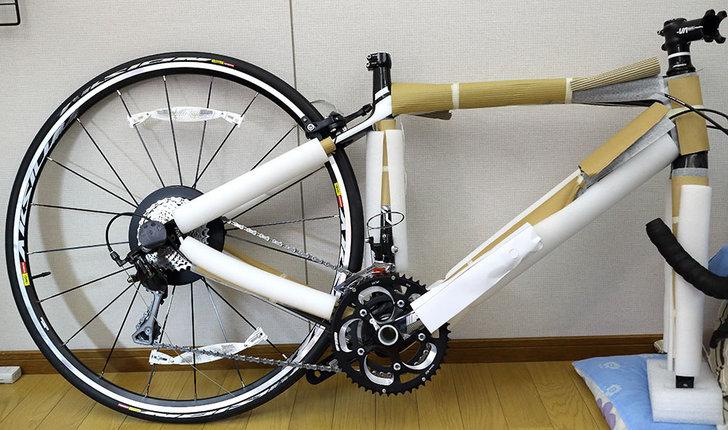 自転車の 自転車を送る箱 : 2013 FELT Z5 納車: シモケンサイズ ...