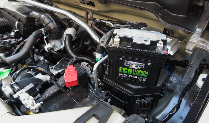 HA36SアルトFのリチウムバッテリー