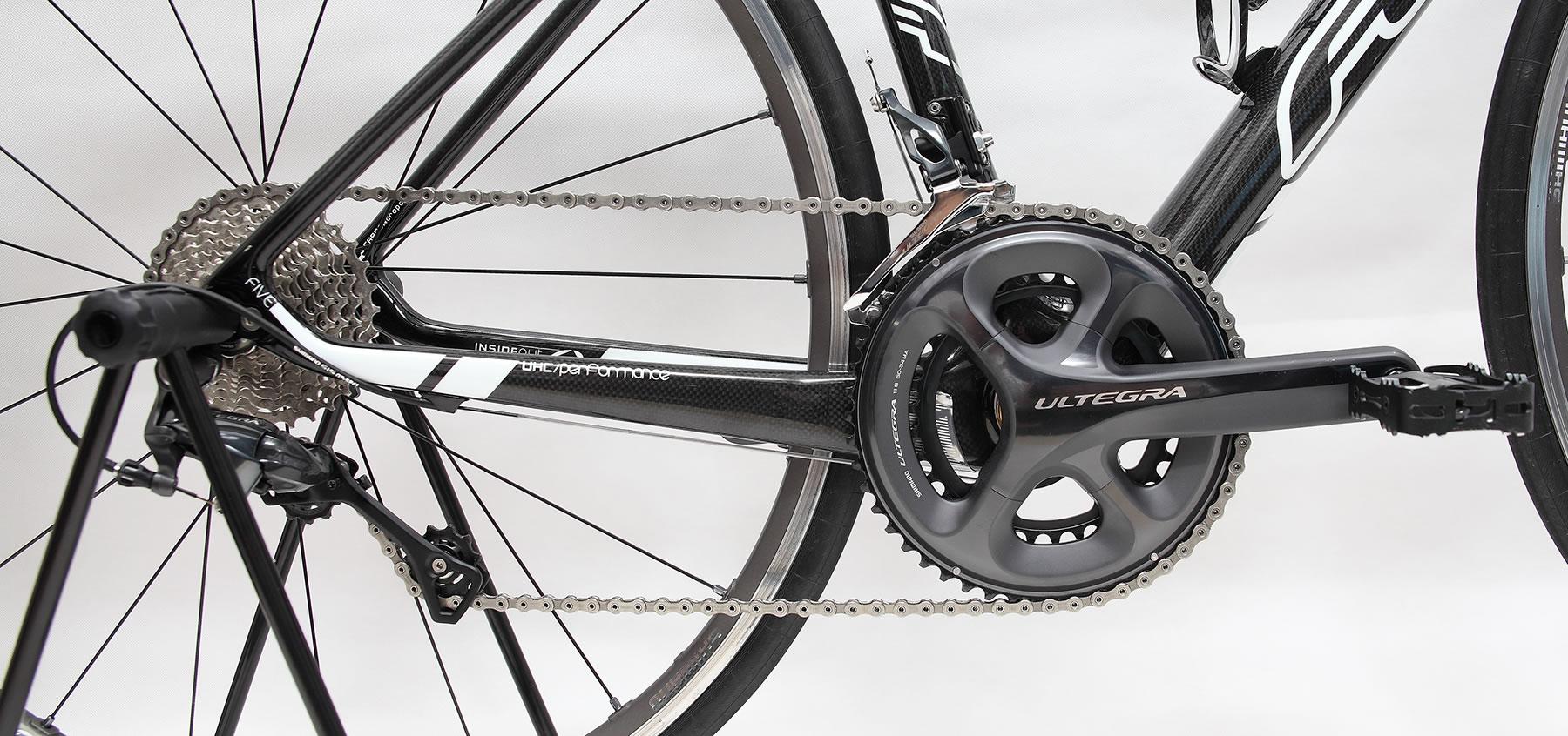 自転車の 自転車 タイヤ ホイール 交換 価格 : アルテグラ6800コンポ 換装作業 ...