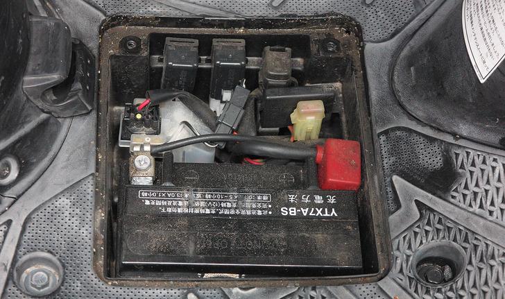 アドレスV125バッテリー