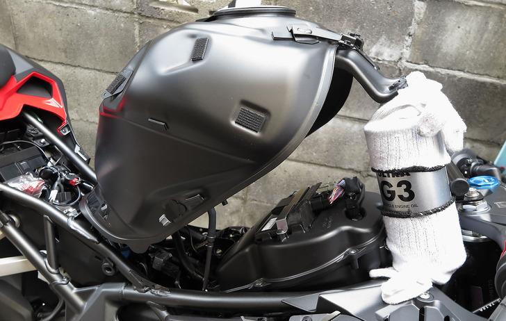 CBR250RR燃料タンク