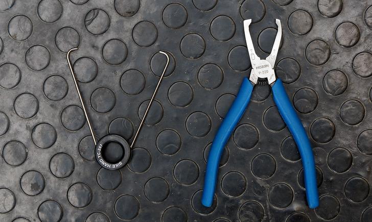 自転車用チェーン交換工具