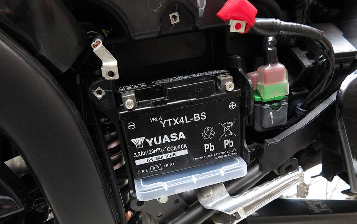 CRF250RALLYバッテリー軽量化